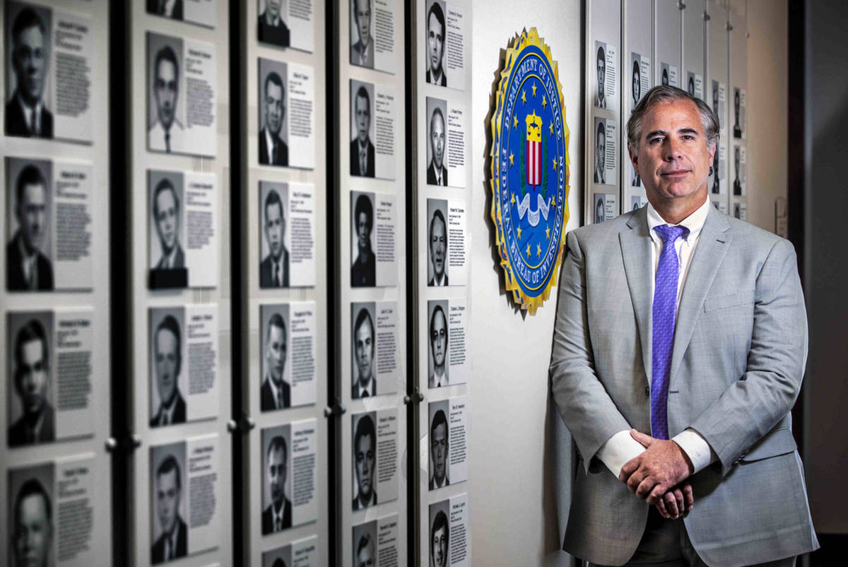 Ray Johnson, FBI Assistant Special Agent in Charge, is pictured on Wednesday, Aug. 18, 2021, ne ...