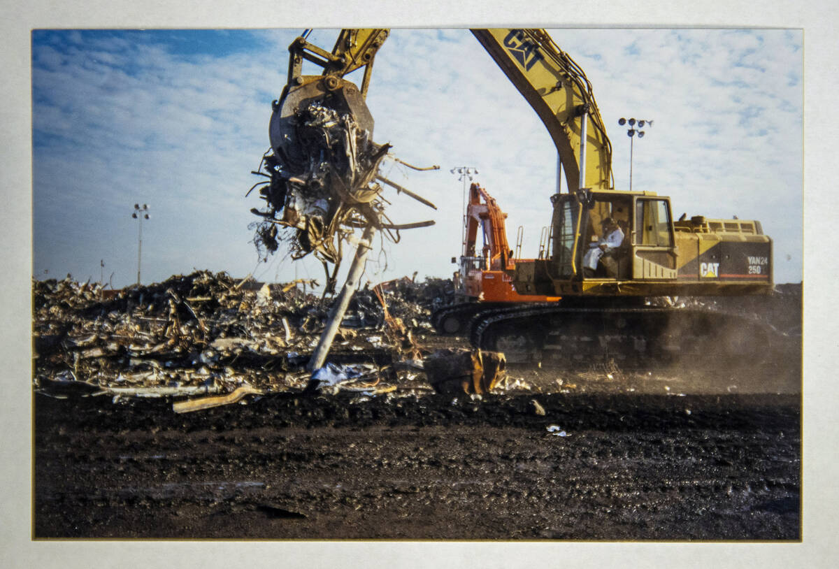 Another load is taken from the pile in an image by FBI Special Agent Tracy Dockery while workin ...