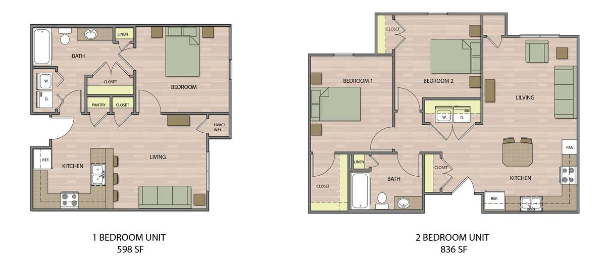 One- and two-bedroom units will be available at Desert Oasis II, an affordable senior housing d ...