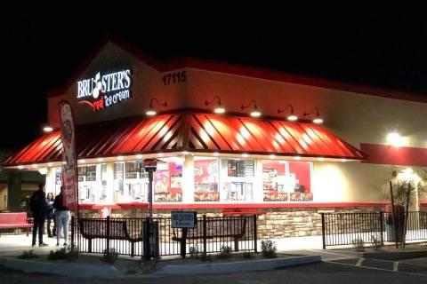 The exterior of a Bruster's Ice Cream shop in Glendale, Ariz. (Bruster's Ice Cream)