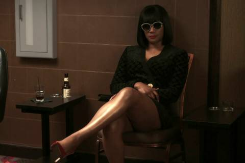 """This image released by Focus Features shows Tiffany Haddish in a scene from """"The Card Coun ..."""