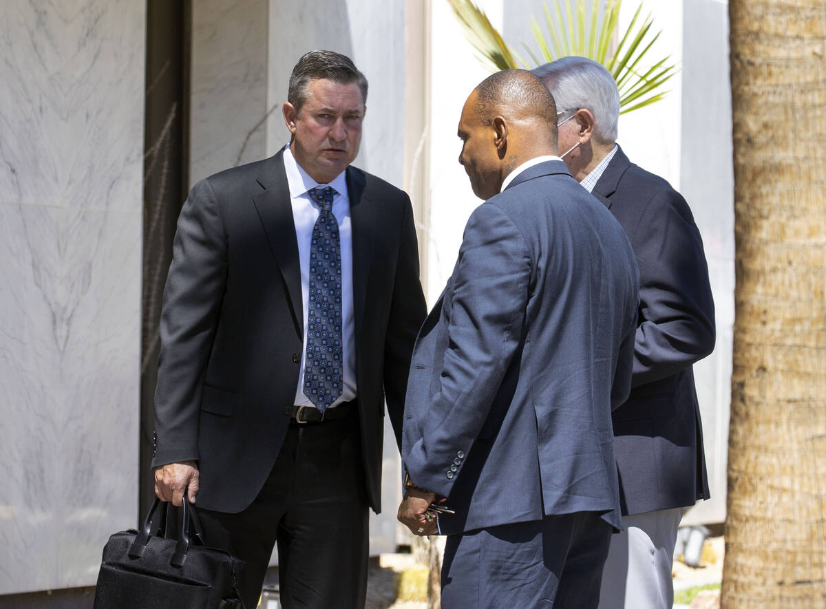Scott Gragson, left, a high-profile real estate broker who pleaded guilty in a DUI crash that l ...
