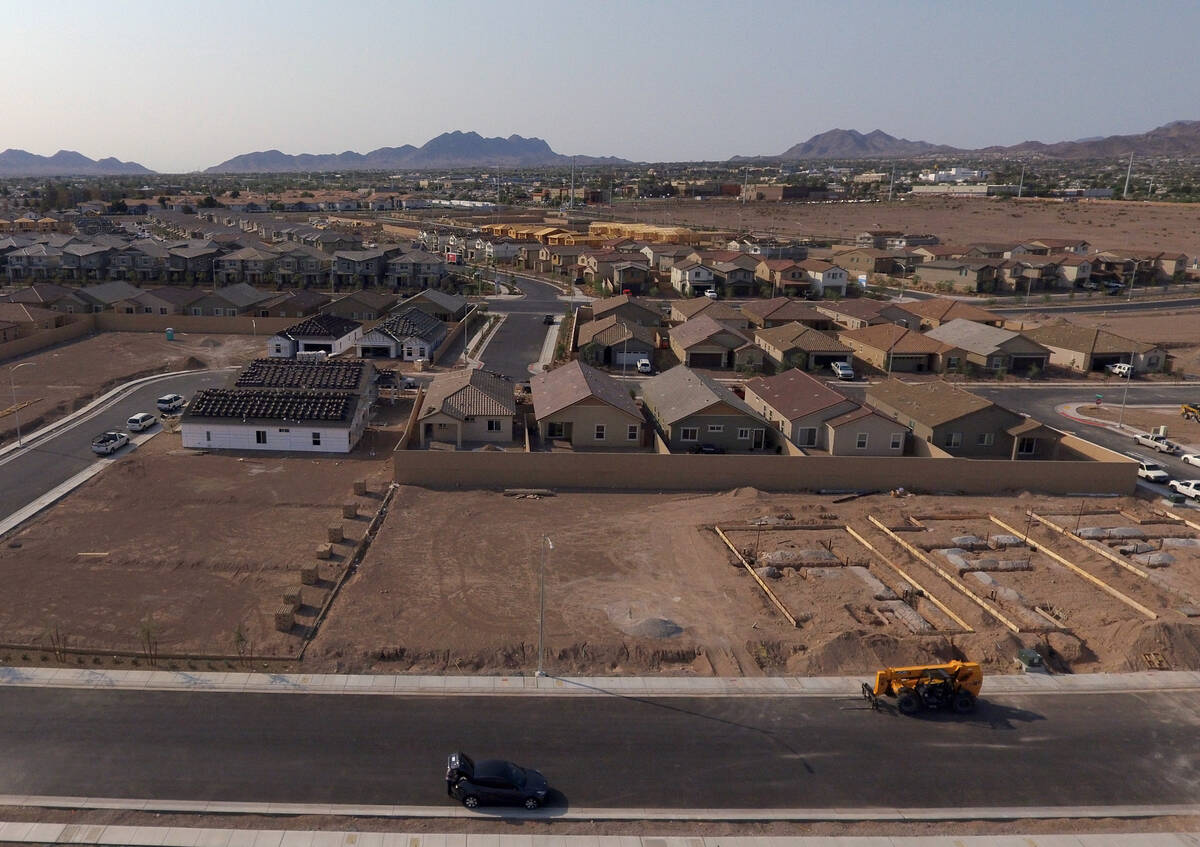 The Rhapsody subdivision by developer StoryBook Homes, located in Henderson's Cadence community ...