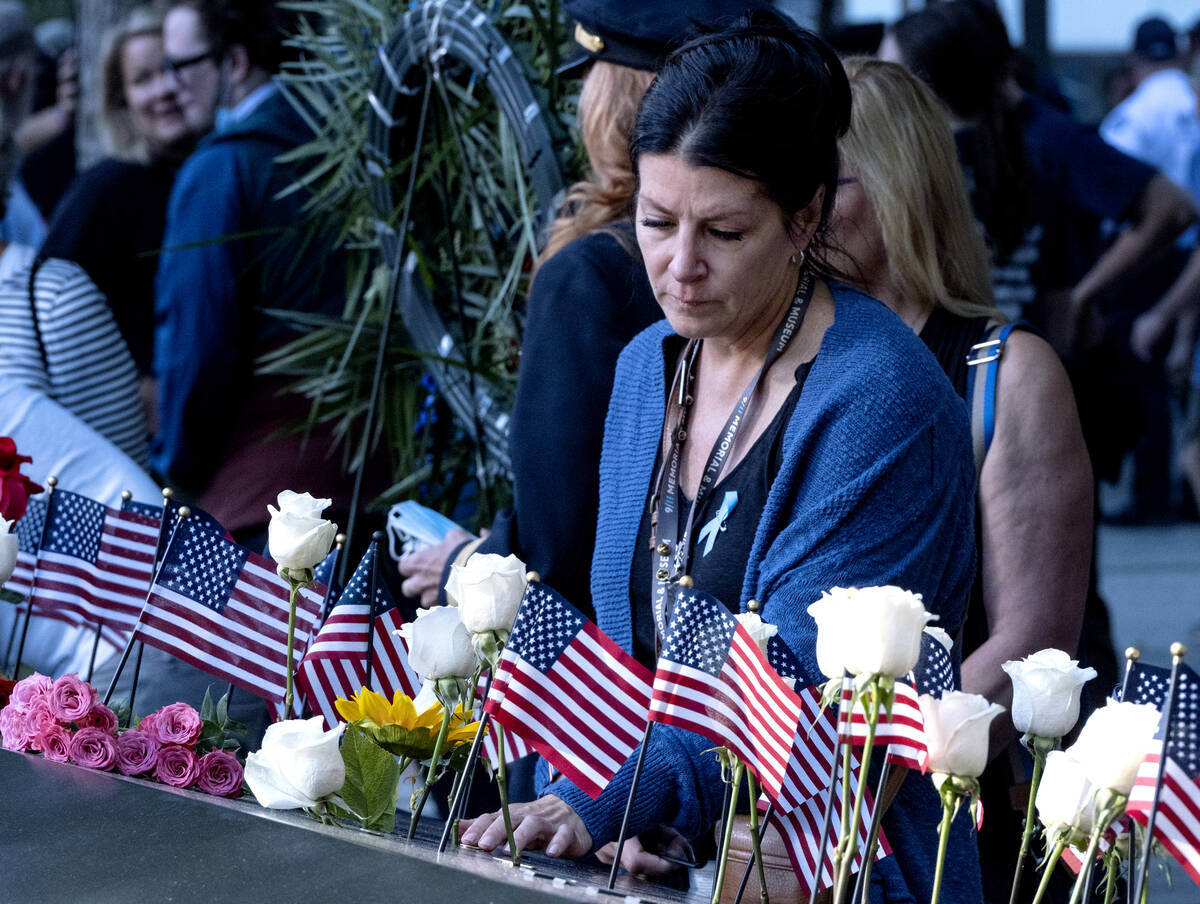 Julie Sweeney Roth, whose husband, Brian Sweeney Roth died when United Airlines flight 175 hit ...