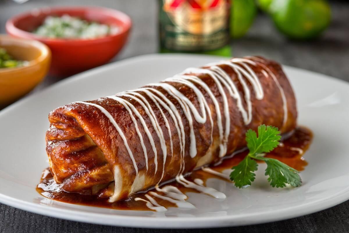 T&T's beef barbacoa burrito. (Peter Harasty)