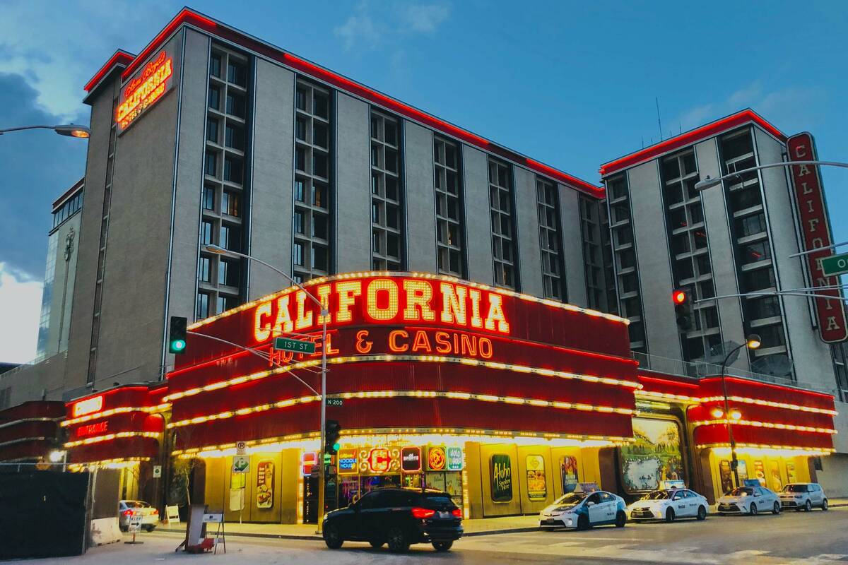 California hotel-casino operated by Boyd Gaming Corp. is seen in this March 14, 2020, file phot ...