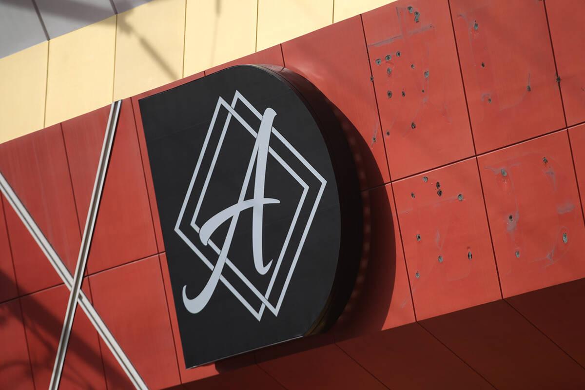Signage for Ahern Hotel and Convention Center in Las Vegas. (Erik Verduzco/Las Vegas Review-Jou ...