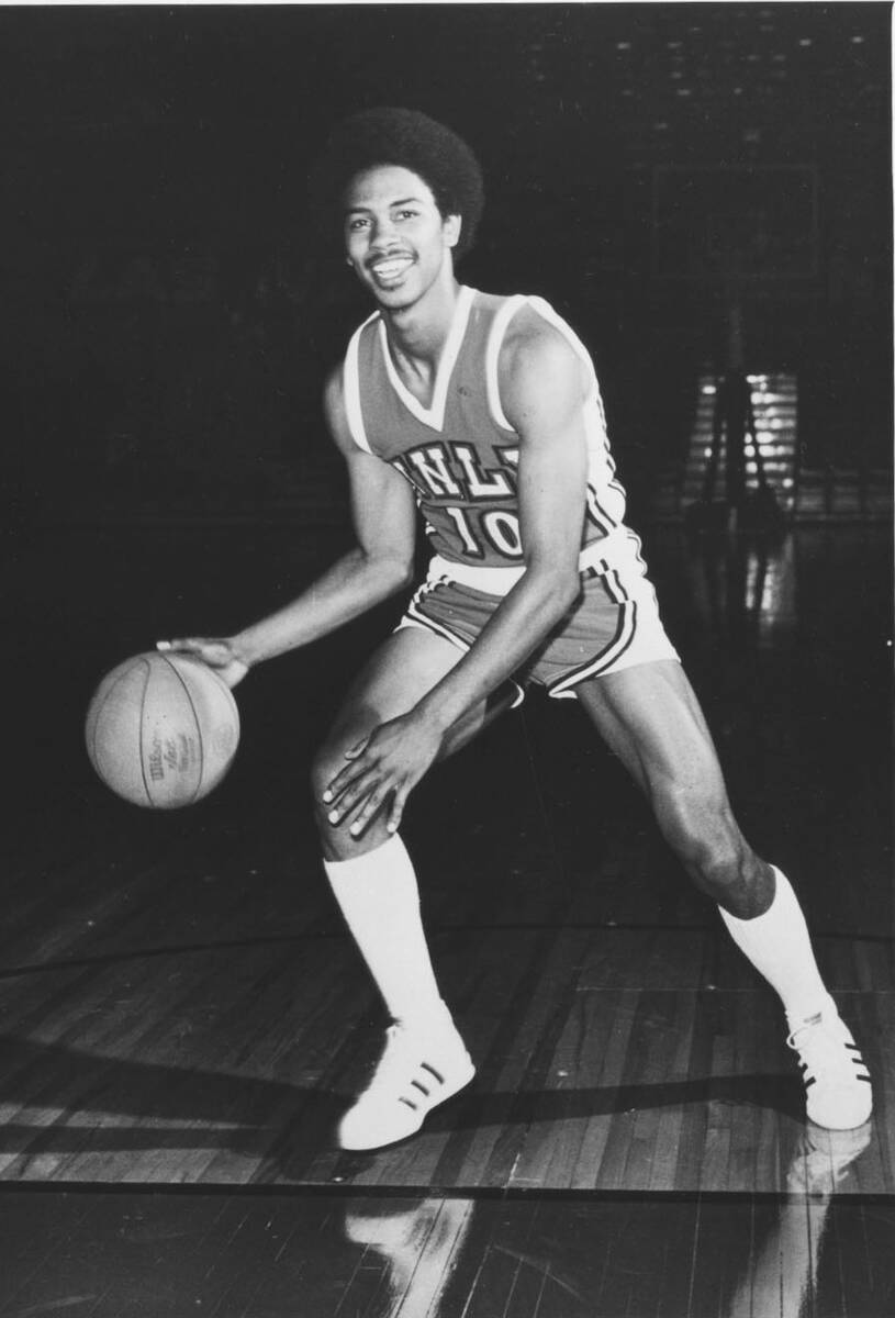 UNLV basketball player Robert Smith, 1974-1977, is shown in this undated file photo. Smith was ...