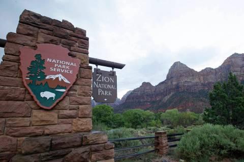 Zion National Park near Springdale, Utah. (AP Photo/Rick Bowmer, File)
