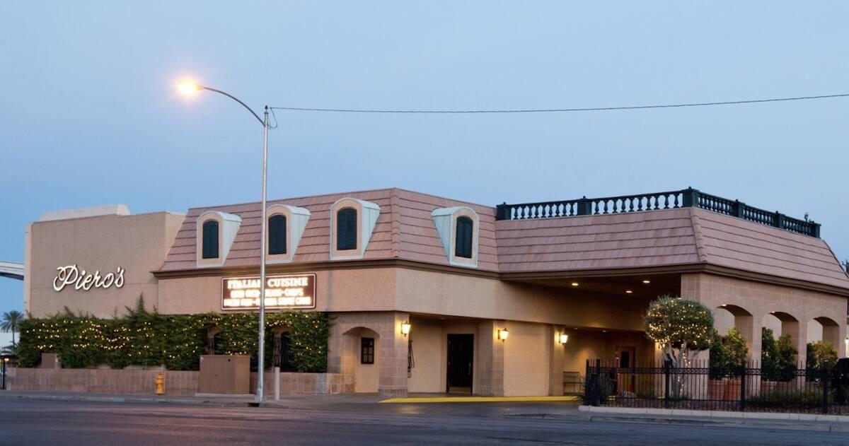 Piero's Italian Cuisine is at Paradise Road and Convention Center Drive. (Piero's Italian Cuisine)