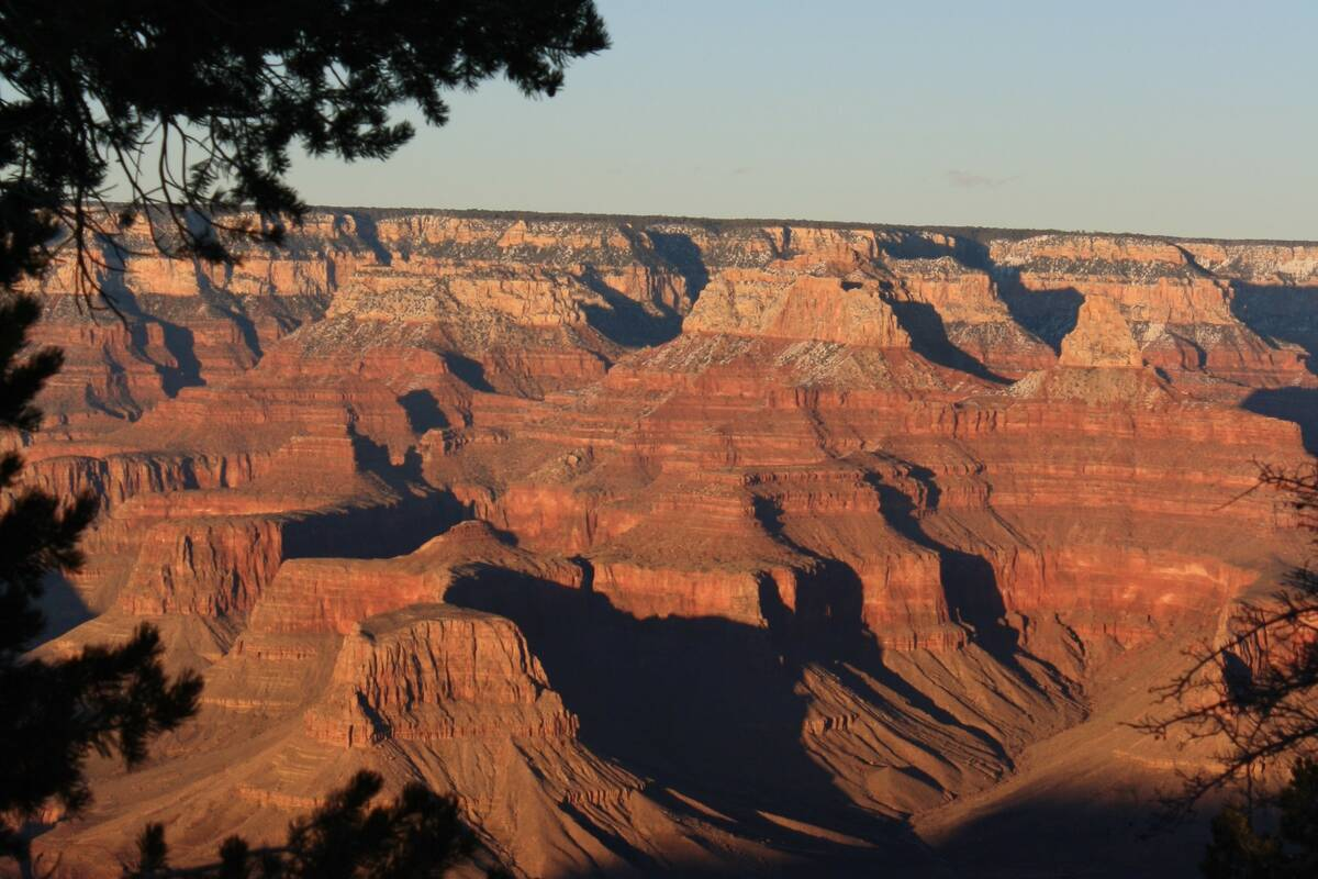 Grand Canyon National Park in Arizona. (Las Vegas Review-Journal)