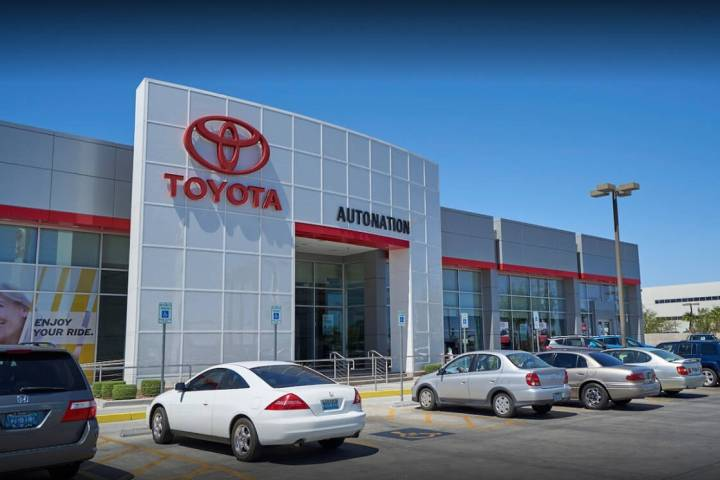 AutoNation Toyota Las Vegas features an extensive inventory of new Toyota models, exclusive lea ...