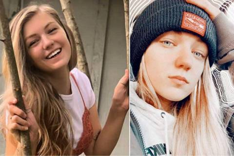 This combo of photos provided by FBI Denver via @FBIDenver shows missing person Gabrielle &quot ...