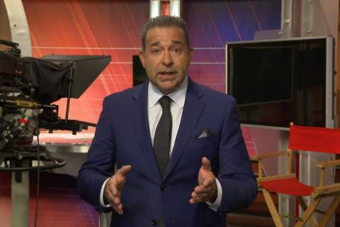 Former KSNV-TV anchor and reporter Gerard Ramalho said he is running for Nevada secretary of st ...