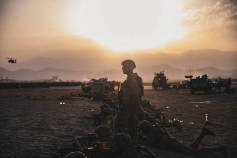Sgt. Isaiah Campbell/U.S. Marine Corps via AP