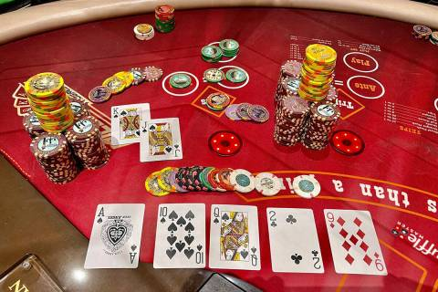 A guest playing Ultimate Texas Hold'em at The Venetian was dealt a spade royal flush, earning ...