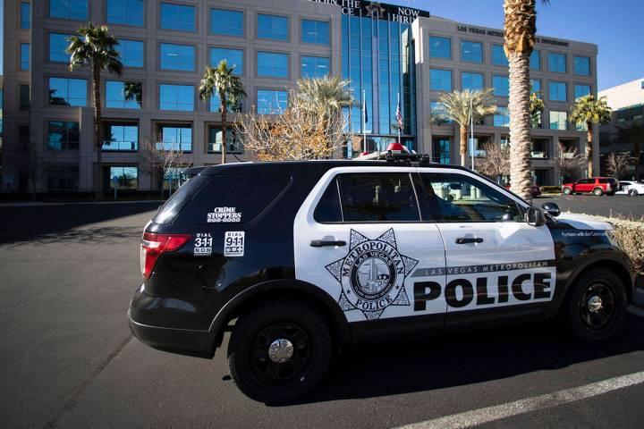 Metropolitan Police Department (Bizuayehu Tesfaye/Las Vegas Review-Journal)