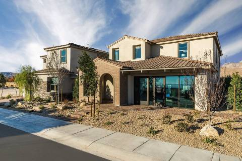 Woodside Homes offers two neighborhoods in Summerlin West. The homes are priced from the high $ ...