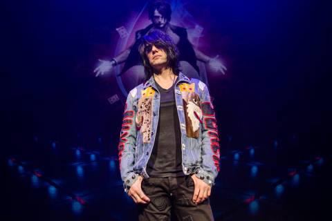 Illusionist Criss Angel at Planet Hollywood Resort on Thursday, Dec. 6, 2018, in Las Vegas (Ben ...