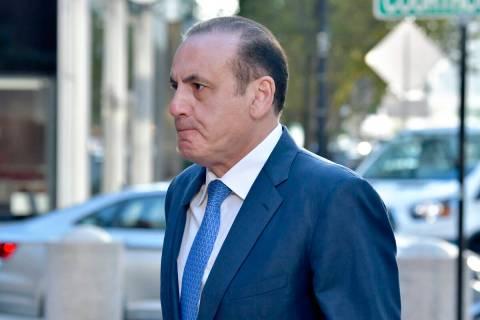 Gamal Abdelaziz arrives at federal court Thursday, Oct. 7, 2021, in Boston. Abdelaziz and anoth ...