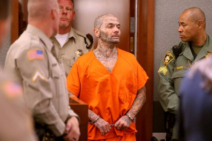 Anthony Williams appears in court at the Regional Justice Center in Las Vegas on Wednesday, Sep ...