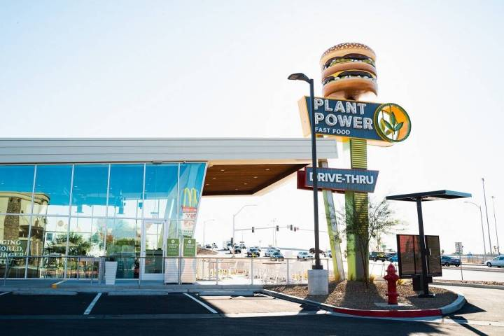 The exterior of Plant Power Fast Food. (Plant Power Fast Food)