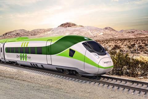 The Brightline high-speed rail plan is expected to break ground in 2022. (Brightline)