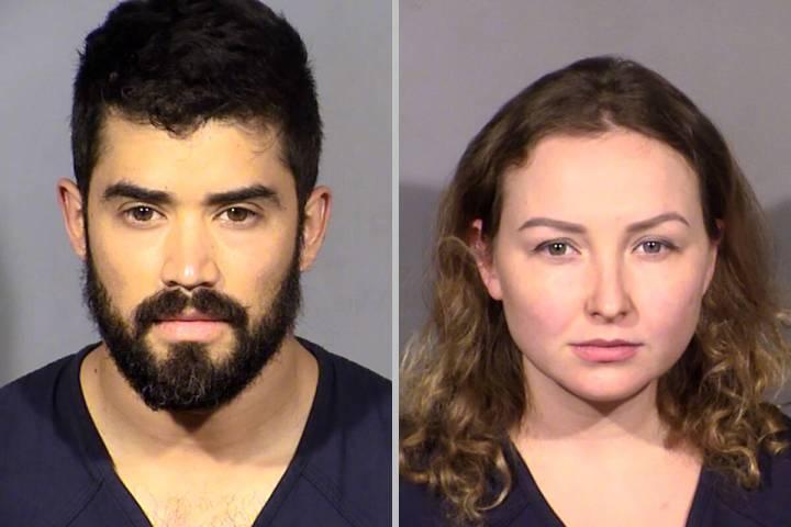 Kenny Girchenko, left, and Olga Girchenko (Las Vegas Metropolitan Police Department)